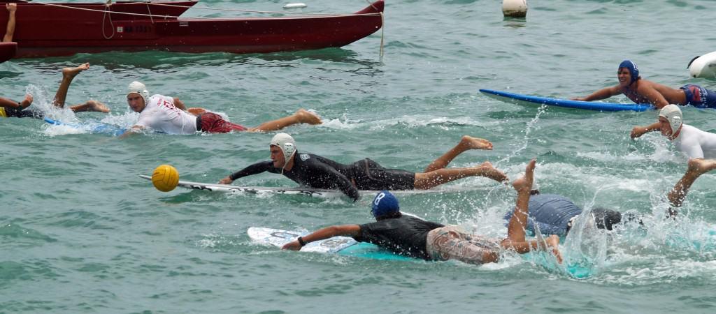 Surfboard water polo