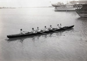Women rowers on Regatta Day.