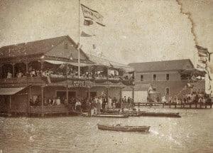 Myrtle Boat Club in Honolulu Harbor.