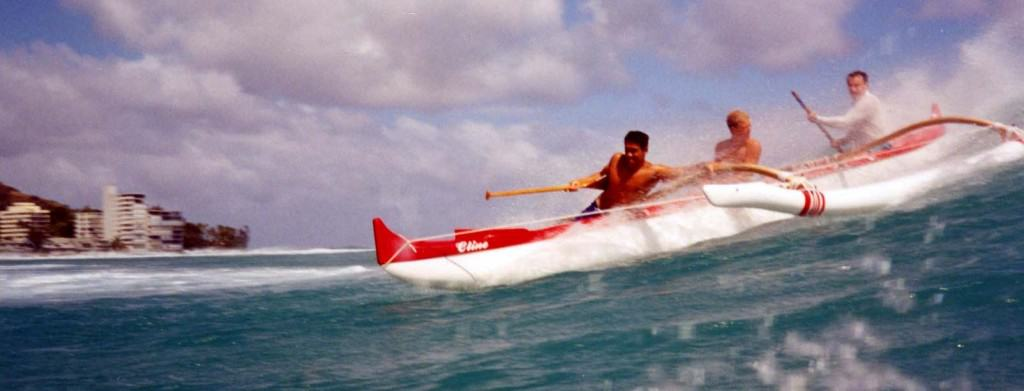 1990s Canoe Surfing crop