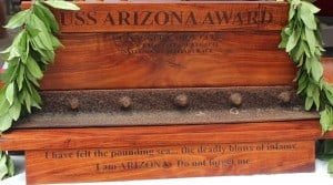 The USS Arizona Trophy