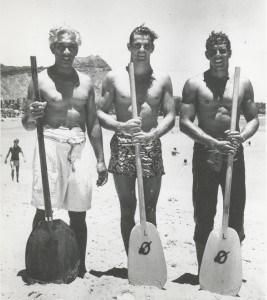 Duke Kahanamoku, Tom Arnott, Jim Pfleuger