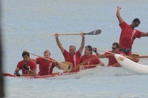 OCC Men 55 finish underwater