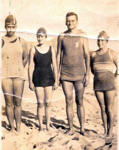 Babe Dowsett, Miss Beatrice, Dad Center, Helen Martin