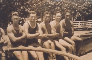 OCC Canoe Racing Team circa 1909