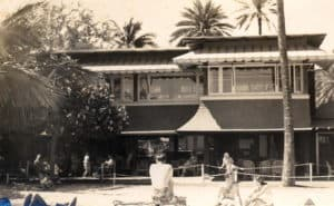 The Uluniu Women's Club was located between the Royal Hawiian Hotel and OCC.