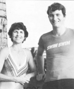 Gerry Senner and Ian Emberson chaired the Swimming Committee in its early ears.