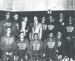 First OCC National Championship 1968 AAU1: Mike McMahon, Ron Sorrell, Pete Velasco, Colin Chock, Mike Holmes. 2: Tony Crabb, Tom Haine, x, x, Dave Hendrickson, Carl McGowan, John Lowell, Dodge Parker