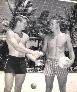 1953 Champions Pat Wyman and Tom Haine.