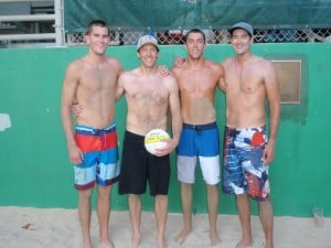 Finalists in the Outrigger Dukes Men's Doubles Championships at the Club in 2011 were Kevin Wong, Brad Lawson, Trevor Crabb and Stein Metzger. Wong and Metzger won the title and Lawson and Crabb came in second.