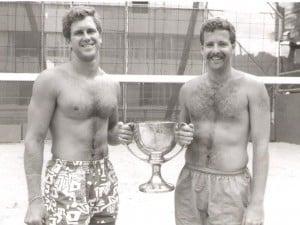 1992 Club Champions Matt Rigg and Ralph Smith.