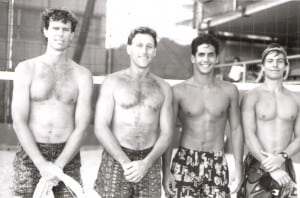 Jon Andersen and Kirk Christman defeated Stevie Li and Kanoa Ostrem for Club Championship in 1991.